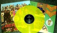"""THE BEATLES """"Sgt Pepper's LHCB"""" 1978 Export on Dutch EXPORT Yellow vinyl NM"""