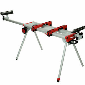 """Universal Miter Saw Stand 9.5'/119"""" Fully Extended Milwaukee 48-08-0550 New"""