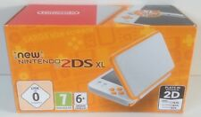 NEW Nintendo 2DS XL handheld console *** WHITE + ORANGE *** NEW *** 2DS