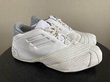 Adidas T Mac 1 Triple White 2005 Basketball Shoes Men's US 11.5 NICE RARE