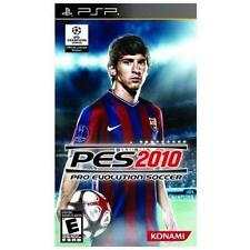 Pro Evolution Soccer PES 2010 UMD PSP GAME SONY PLAYSTATION PORTABLE 10 2K10