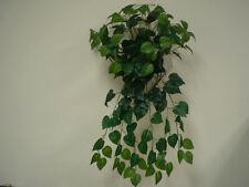 "PHILO Leaves Hanging Bush 25"" Artificial Silk Plant Greenery 580KA"