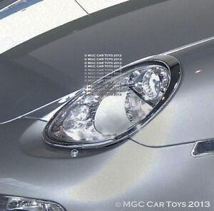 Porsche Boxster & Boxster S Headlight Chrome Trim Upgrade 2005-2008