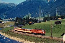 543058 Arlberg Line Express Near St Anton Austria A4 Photo Print