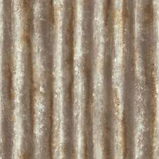 Fd22334-RECUPERATA ruggine in metallo ondulato carta da Parati Fine Decor
