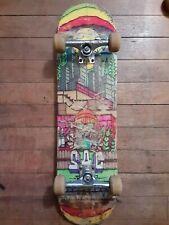 Used complete skateboard Sac Ramp Thunder trucks Kyle Walker hollow deck new