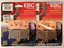 Triumph Daytona 675 (2011 to 2015) EBC FRONT Sintered Brake Pads (FA491HH x 2)