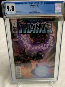 Thanos #16 Origin of Cosmic Ghost Rider CGC 9.8 White Pages New Slab