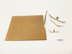 Spezial FEDERBLECH für die Herstellung von Kontakten,83x90mm/0,10mm,PP2