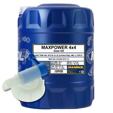 20 (1x20) Liter MANNOL Maxpower 4x4 SAE 75W-140 API GL 5 mit Auslaufhahn