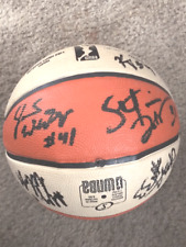 Seattle Storm 2016 Team Autographed WNBA Ball  COA