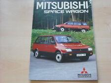 52709) Mitsubishi Space Wagon Prospekt 08/1985