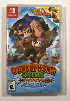 Donkey Kong Country: Tropical Freeze (Nintendo Switch, 2018) -NEW- Fast Shipping