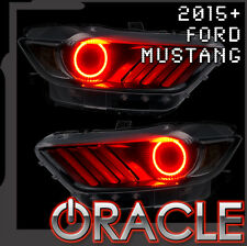 2015 Ford Mustang Oracle SMD LED Halo Light Kit for Headlights (Red)