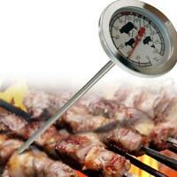 Edelstahl-Instant-Messfühler-Thermometer BBQ Food Cooking Meat Gauge