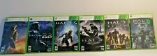 Halo Games Xbox 360 Clean and Tested!