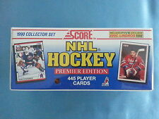 "SCORE  HOCKEY         ""FACTORY  SET / PREMIER YEAR""     1990      NEW  /  SEALED"