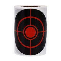 250pcs/roll Diameter 7.5 cm Splatter Target Shooting Stickers For Hunting *tr