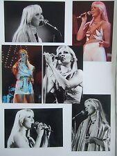 Agnetha Faltskog Live Concert Tour 1977 Photo Set 2 *Mamma Mia ABBA Frida A SOS