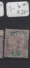 LEEWARD ISLANDS (P1610B)  QV  7 D   SG 6     VFU