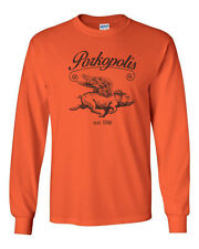 322 Porkopolis Long Sleeve Shirt pig cincinnati flying funny ohio illustration
