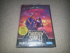 Phantasy Star 2 Sega Mega Drive Game Boxed, Missing Manual MegaDrive