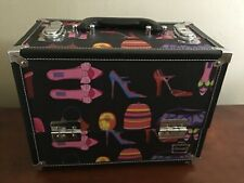 Caboodles Vintage Make-Up Organizer Jewelry Box Train Case EUC