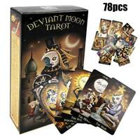 Deviant Moon Tarot Deck 78 Cards Divination Prophet Cards Gams English Edition
