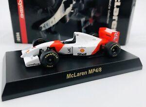 Kyosho 1/64 Mclaren Minicar Collection MP4/8 #7 Ayrton Senna