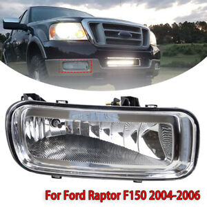 FOR 2004-2006 FORD F150 LINCOLN MARK LT CLEAR LENS BUMPER FOG LIGHT LAMP RIGHT