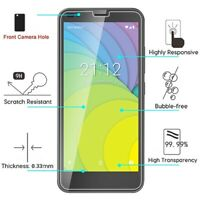 For Nuu Mobile A6LC Premium Shockproof Screen Protector Guard Tempered Glass 9H
