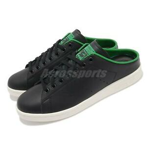 adidas Originals Stan Smith Mule Black Green White Men Unisex Casual Shoe FX5858