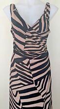 JV Selection Australia Women's V- Neck Ruched Waist A-Line Dress Size 14