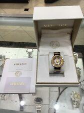 Versace V Metal Icon Dual Color Watch