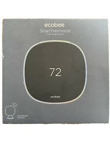 Ecobee SmartThermostat with Voice Control - Black