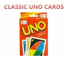 2x Packs UNO Cards Classic Card Game Family Kids Playing Party Toy Gift Travel