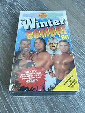 WWF WINTER COMBAT 1996 '96 VHS COLISEUM VIDEO FACTORY SEALED WWE
