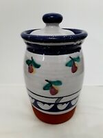 DAMARISCOTTA POTTERY MAINE JAR/CANISTER BEAUTIFUL COLLECTORS ITEM