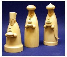 Escena de la Natividad de madera los tres sabios 6cm Set