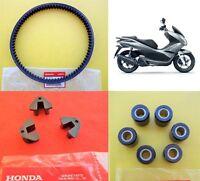 Honda PCX 125 Belt + Rollers + Sliders 2009 - 2014 **** GENUINE & UK STOCK ****