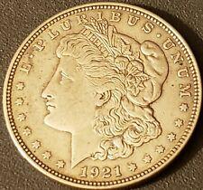 1921 D Morgan Silver Dollar AU