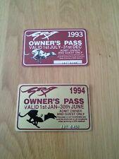 Greyhound owners passes 1993 & 1994 Greyhound racing association
