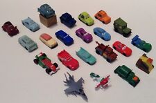 Disney Cars Planes Solid Vinyl Cars Vehicles Figurines Cake Toppers Lot Of 22