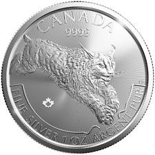 2017 $5 Silver Canadian Predator Series Lynx 1 oz BU