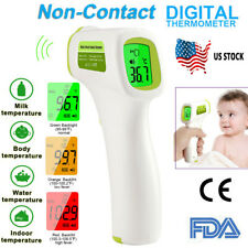 Forehead Thermometer Infrared Non-contact Digital Temp Baby/adult Termometro FDA