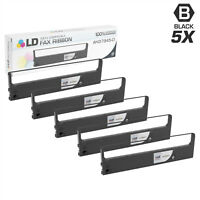 3 Pack 120DS 124D 180D 180E 200GX Printer Ribbon Black Citizen 120D 120D