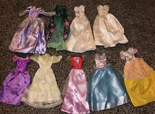 Lot 9 Barbie Doll Mattel Elegant Evening Gala Party Formal Gowns Dresses Clothes