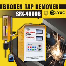 3000w Broken Tap Remover Super Power Sfx 4000b Edm Tools Spark Erosion Machine