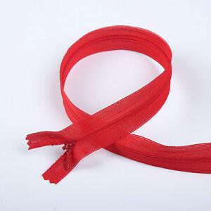 Wholesale 50/100/200pcs Nylon Invisible Zipper Sewing 9.6inch (10color)
