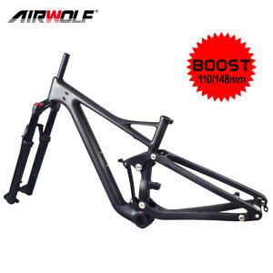 Carbon Frame mtb 29er Boost Full Suspension Mountain Bike Frames Fork Frameset